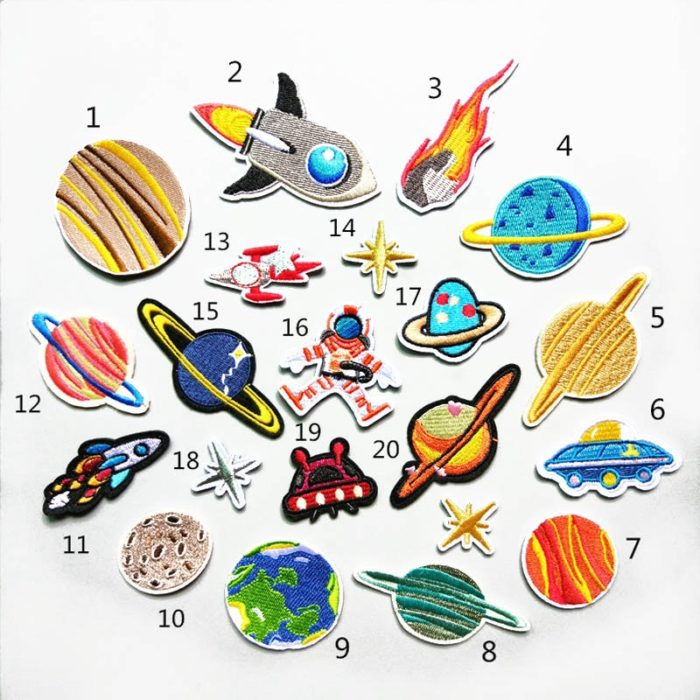 Sew On Patches 20PC Set For Your Outfits